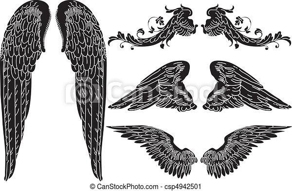 Angel Wings - csp4942501