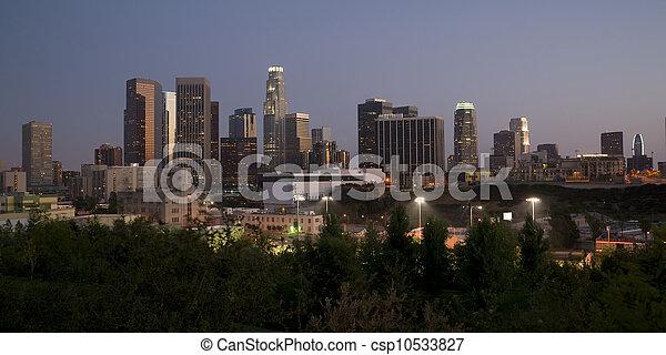 Los Ángeles horizontales - csp10533827