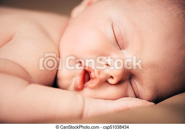 angelic baby sleep - csp51038434
