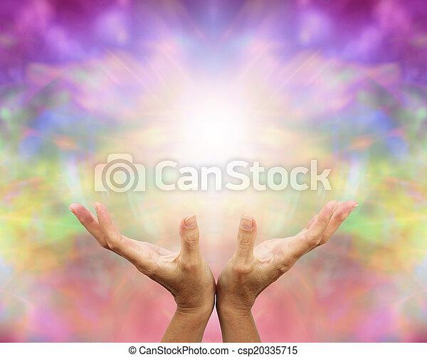 Angelic Healing Energy - csp20335715