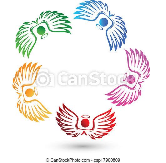 Angels team logo - csp17900809