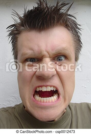 anger! - csp0012473