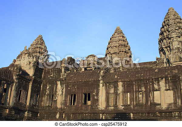 Angkor Wat, Cambodia - csp25475912