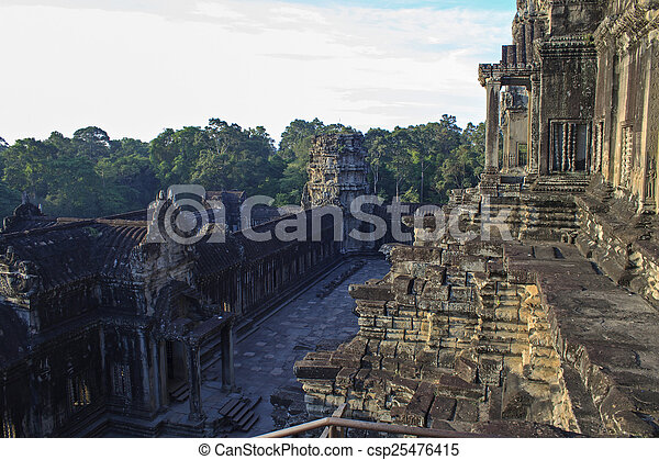 Angkor Wat, Cambodia - csp25476415