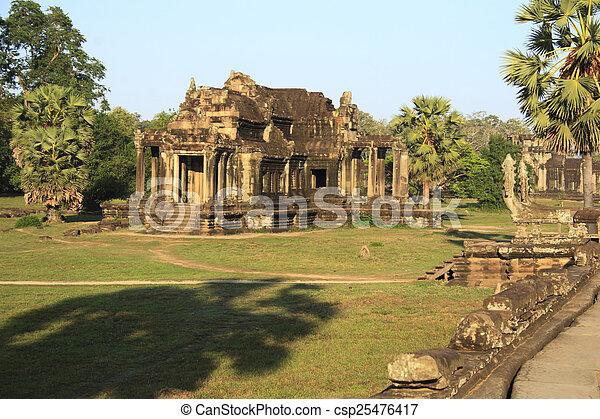 Angkor Wat, Cambodia - csp25476417