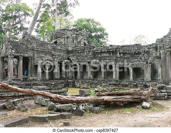Angkor wat, Cambodia.  - csp8397427