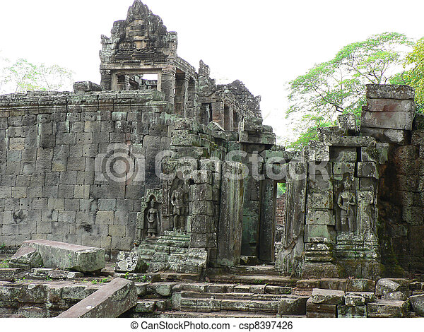 Angkor wat, Cambodia.  - csp8397426