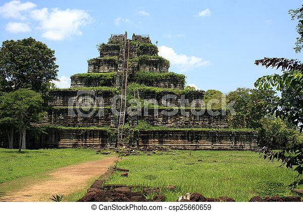 Angkor Wat Cambodia - csp25660659