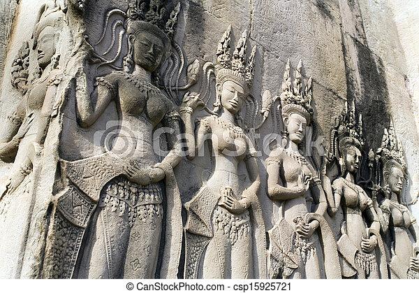 Angkor Wat - Cambodia - csp15925721
