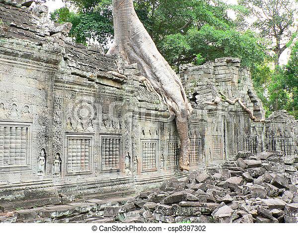 Angkor wat, Cambodia.  - csp8397302