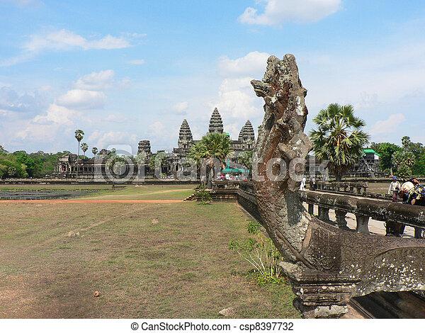 Angkor wat, Cambodia.  - csp8397732