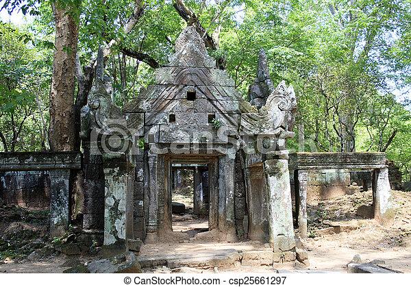 Angkor Wat Cambodia - csp25661297