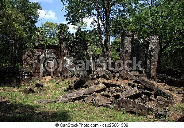 Angkor Wat Cambodia - csp25661309