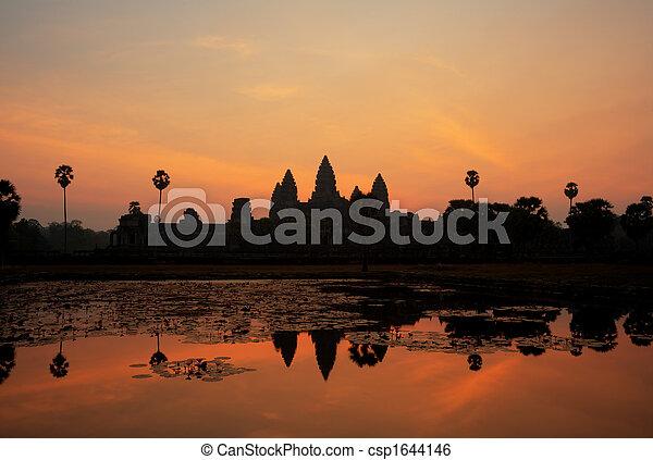 Angkor Wat - csp1644146