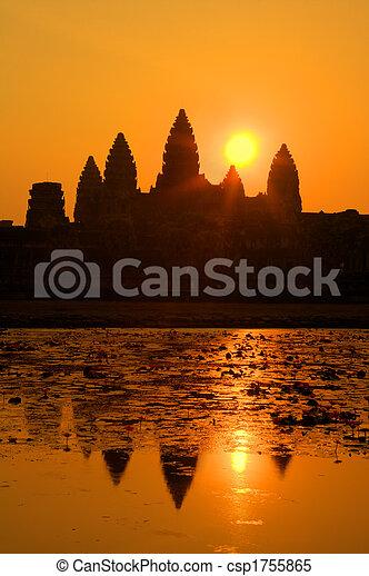 Angkor Wat - csp1755865