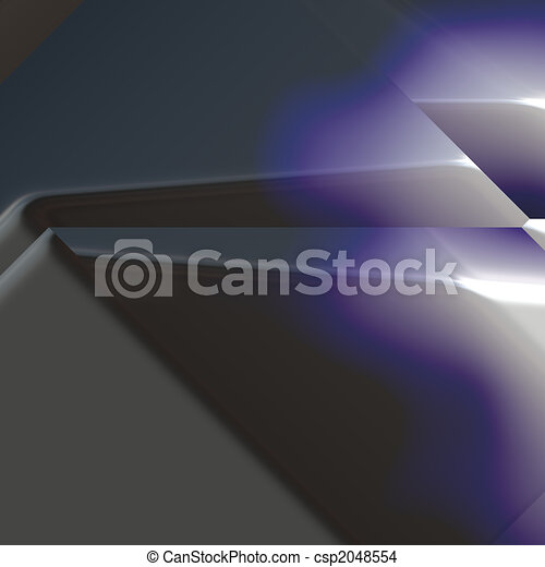 Angled geometric abstract - csp2048554