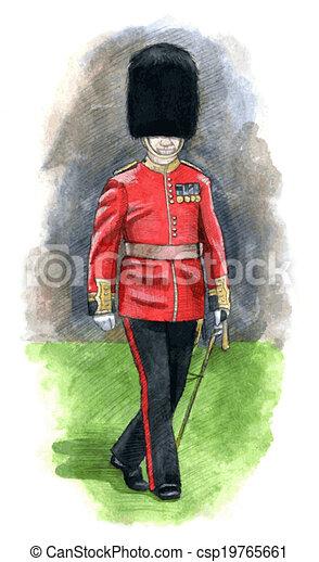 Angleterre Garde Royal
