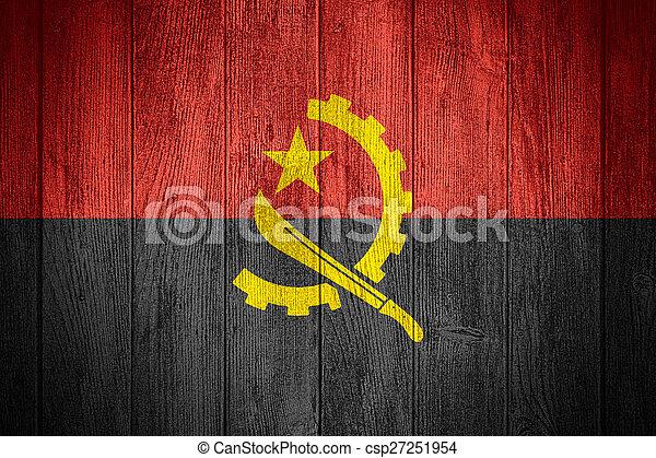 Angola flag - csp27251954