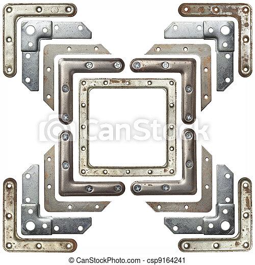 angoli, metallo - csp9164241