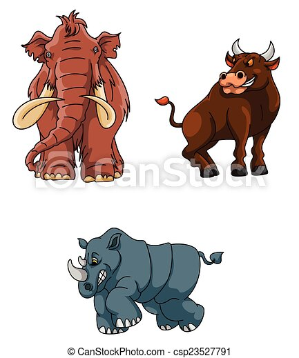 Angry Animals Group - csp23527791