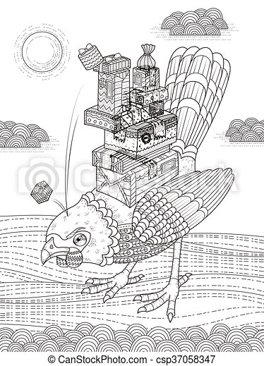 Angry blue bird Stock Illustration Images. 183 Angry blue bird ...