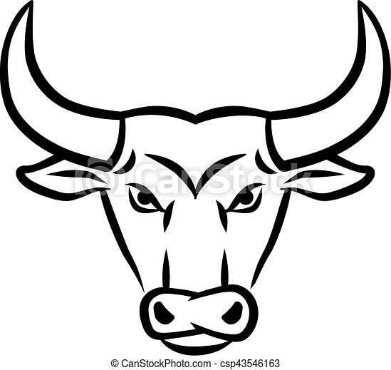 angry bull head clip art vector search drawings and graphics rh canstockphoto com bull clip art images ball clipart