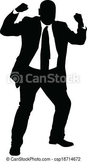 angry businessman silhouette a silhouette of an angry businessman