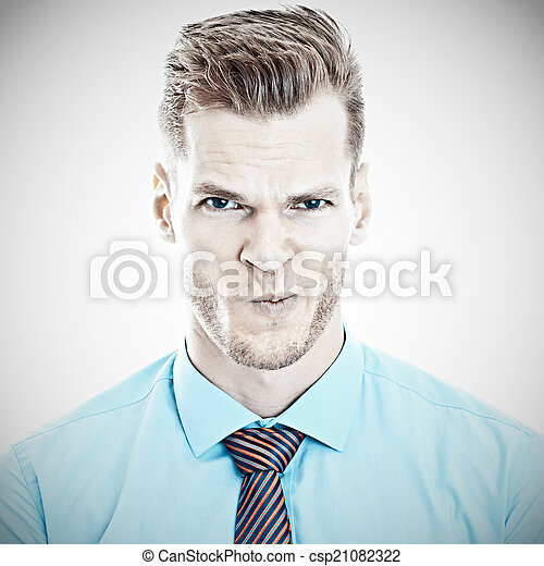 Angry Businessman - csp21082322