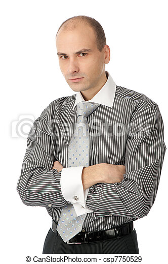 angry businessman - csp7750529