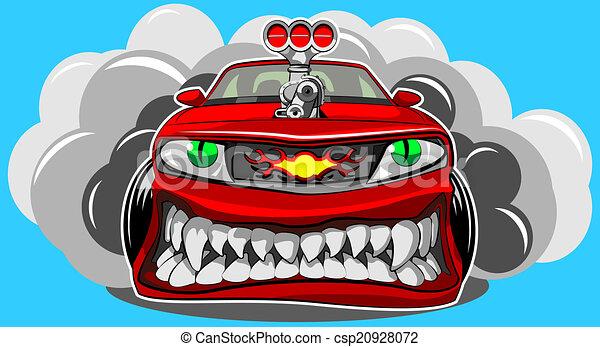 Angry car - csp20928072