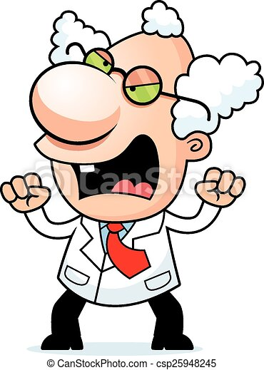 angry cartoon mad scientist an illustration of a cartoon eps rh canstockphoto com Mad Clip Art Frustrated Clip Art