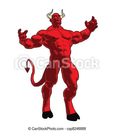 Angry Demon - csp8248888