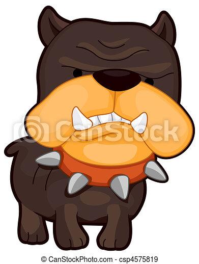 Angry Dog - csp4575819