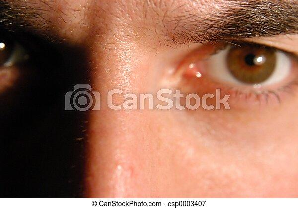 Angry eye - csp0003407