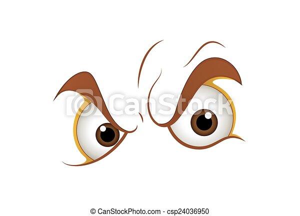 Angry Eyes - csp24036950