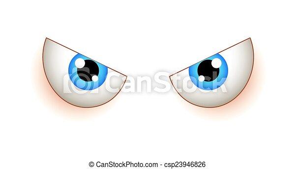 Angry Eyes - csp23946826