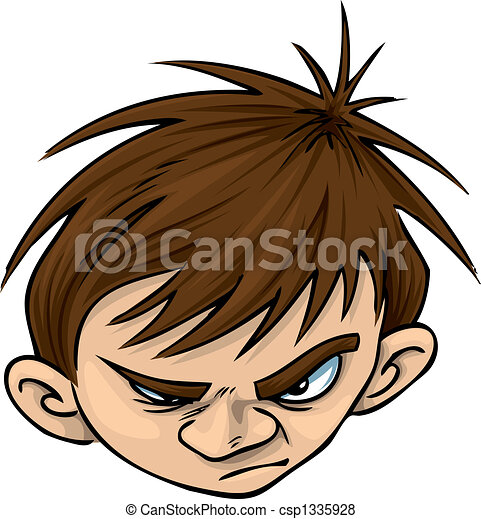 Angry Kid - csp1335928