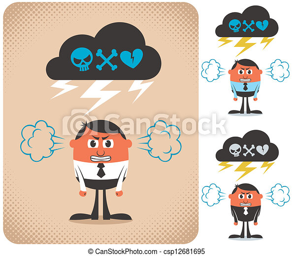 Angry Man - csp12681695