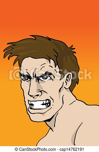 Angry man - csp14762191