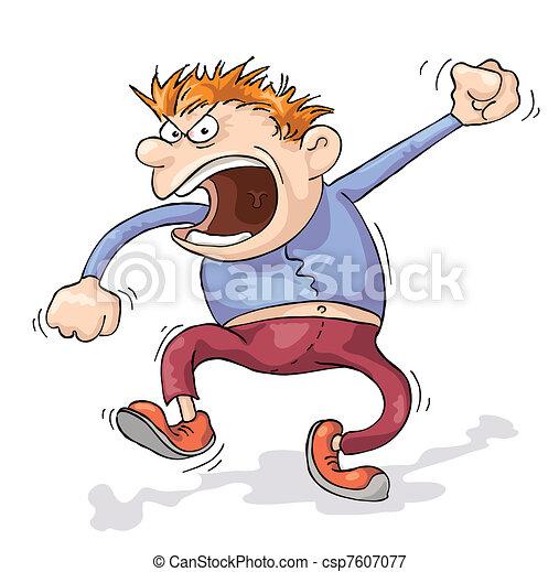 Angry Man - csp7607077