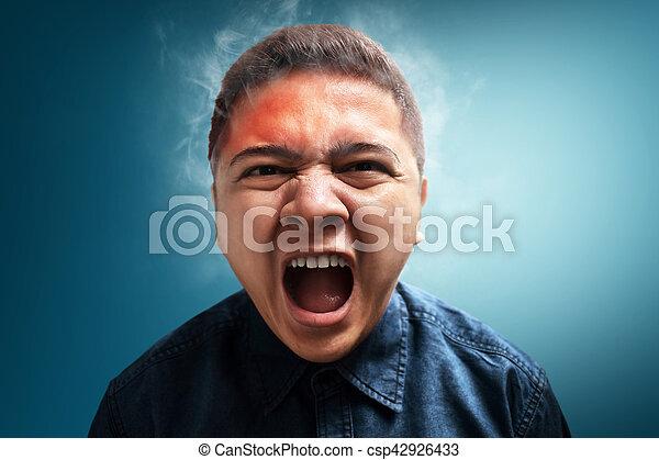 Angry man - csp42926433