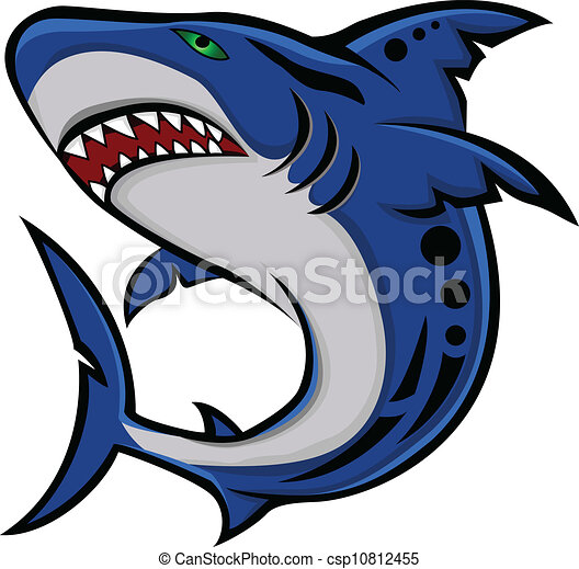 vector illustration of angry shark clipart vector search rh canstockphoto com shark victory press blue/grey watch shark victory press rainbow