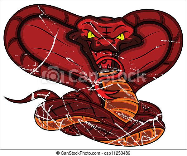 Angry Snake - csp11250489