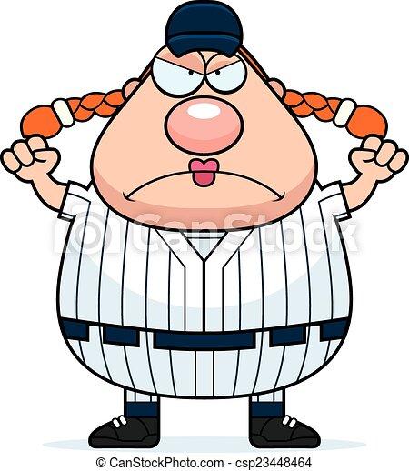 angry softball player a cartoon illustration of a softball clip rh canstockphoto com softball player clipart images softball player clipart free