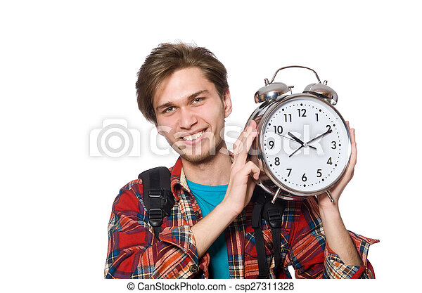 Angry student missing his deadlines - csp27311328