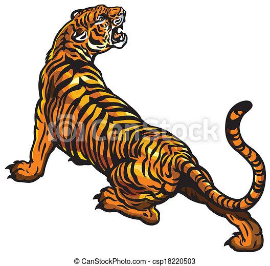 angry tiger - csp18220503