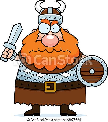 Angry Viking - csp3975624