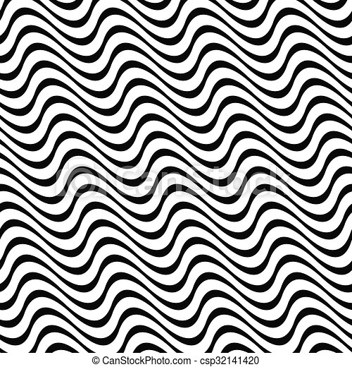 Angular Abstract Monochrome Seamless Wave Pattern Angular Abstract Gorgeous Angular Pattern