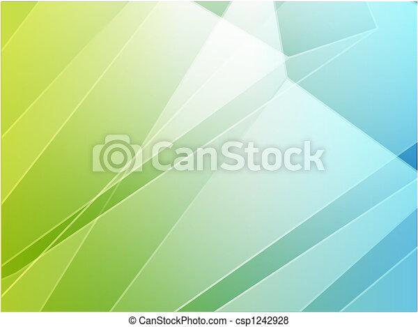 Angular crystal abstract design - csp1242928