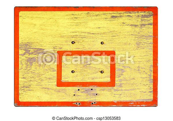 Un viejo escudo sin anillos para el baloncesto - csp13053583